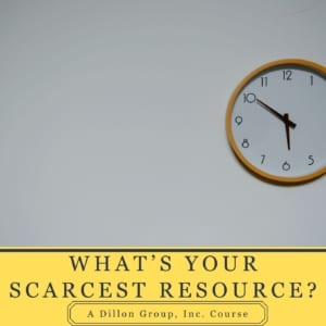 What's Your Scarcest Resource?