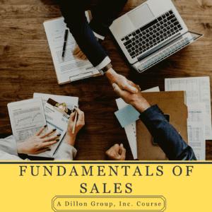 Fundamentals of Sales